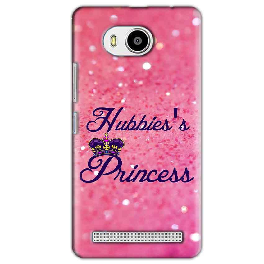 Lenovo A7700 Mobile Covers Cases Hubbies Princess - Lowest Price - Paybydaddy.com