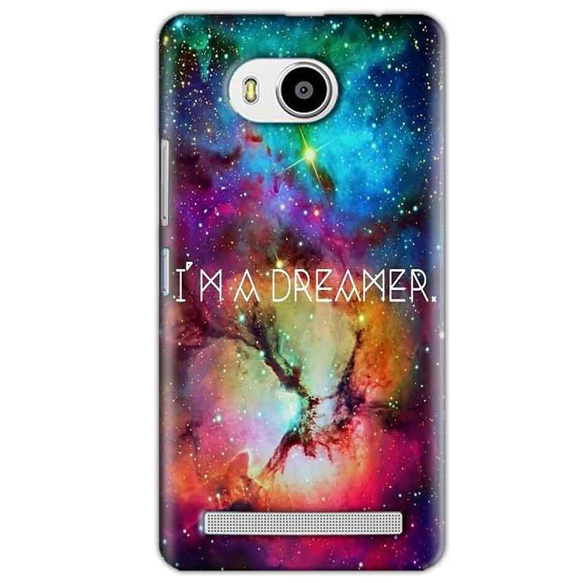 Lenovo A7700 Mobile Covers Cases I am Dreamer - Lowest Price - Paybydaddy.com