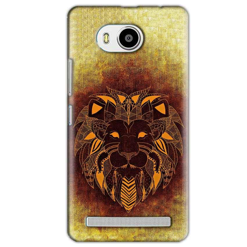 Lenovo A7700 Mobile Covers Cases Lion face art - Lowest Price - Paybydaddy.com