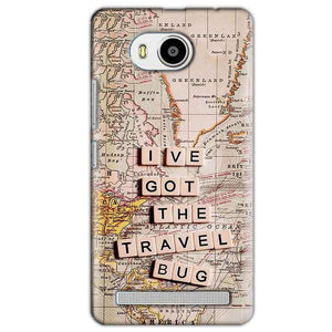 Lenovo A7700 Mobile Covers Cases Live Travel Bug - Lowest Price - Paybydaddy.com