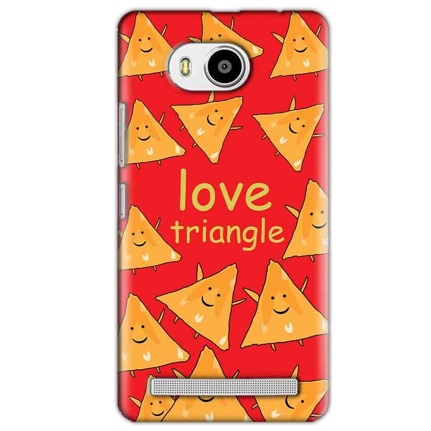 Lenovo A7700 Mobile Covers Cases Love Triangle - Lowest Price - Paybydaddy.com
