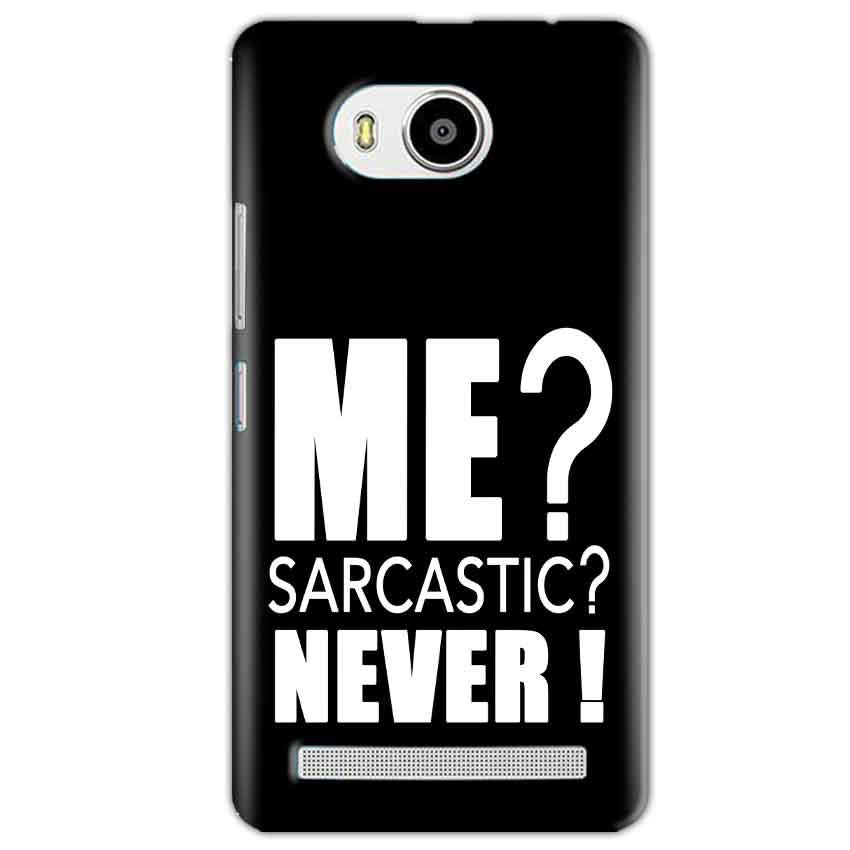 Lenovo A7700 Mobile Covers Cases Me sarcastic - Lowest Price - Paybydaddy.com