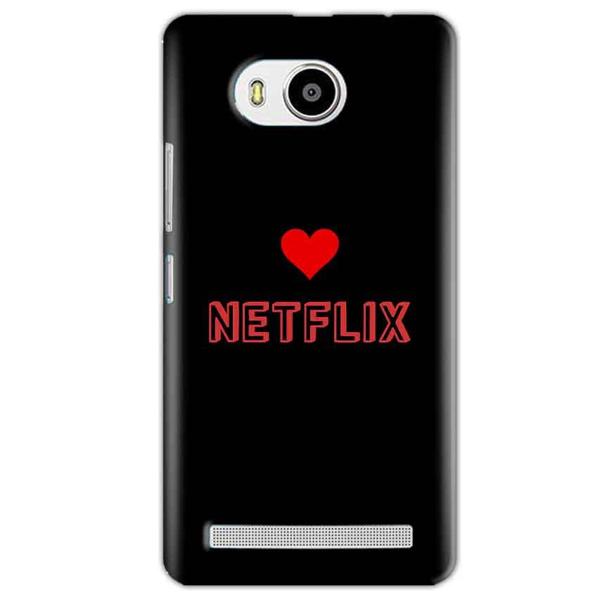 Lenovo A7700 Mobile Covers Cases NETFLIX WITH HEART - Lowest Price - Paybydaddy.com