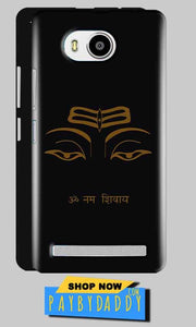Lenovo A7700 Mobile Covers Cases Om Namaha Gold Black - Lowest Price - Paybydaddy.com