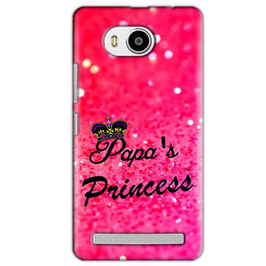 Lenovo A7700 Mobile Covers Cases PAPA PRINCESS - Lowest Price - Paybydaddy.com