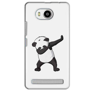 Lenovo A7700 Mobile Covers Cases Panda Dab - Lowest Price - Paybydaddy.com