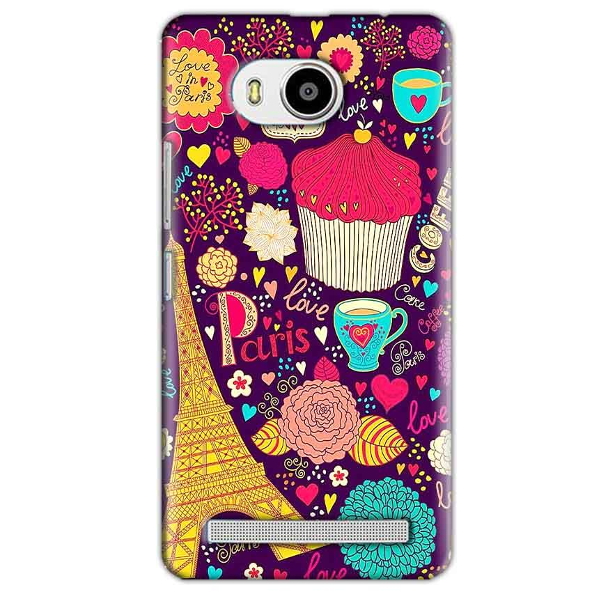 Lenovo A7700 Mobile Covers Cases Paris Sweet love - Lowest Price - Paybydaddy.com