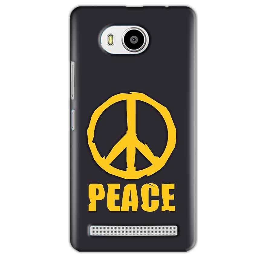 Lenovo A7700 Mobile Covers Cases Peace Blue Yellow - Lowest Price - Paybydaddy.com