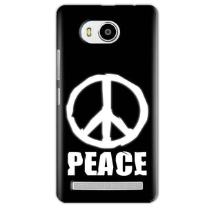 Lenovo A7700 Mobile Covers Cases Peace Sign In White - Lowest Price - Paybydaddy.com