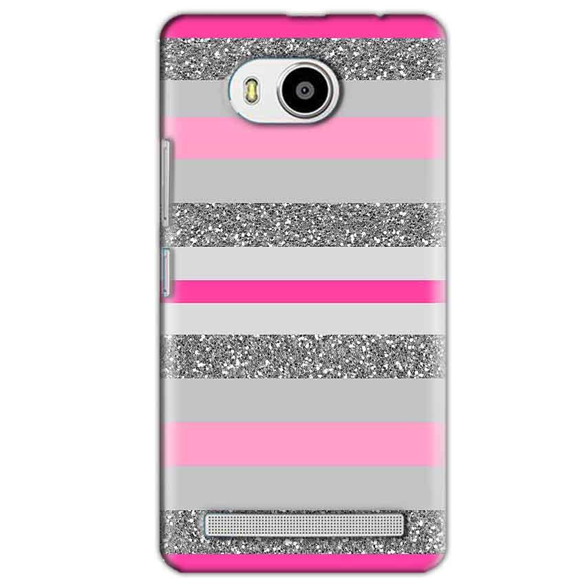 Lenovo A7700 Mobile Covers Cases Pink colour pattern - Lowest Price - Paybydaddy.com