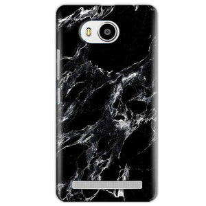Lenovo A7700 Mobile Covers Cases Pure Black Marble Texture - Lowest Price - Paybydaddy.com