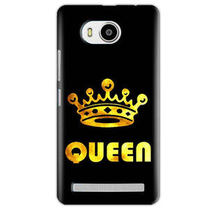 Lenovo A7700 Mobile Covers Cases Queen With Crown in gold - Lowest Price - Paybydaddy.com