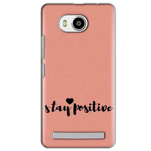 Lenovo A7700 Mobile Covers Cases Stay Positive - Lowest Price - Paybydaddy.com