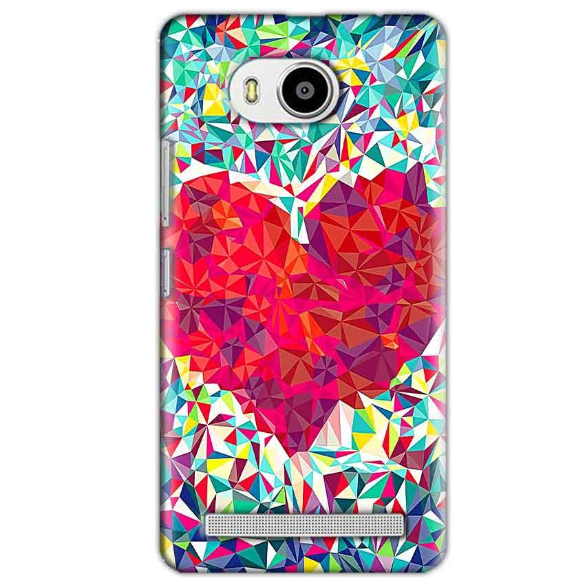 Lenovo A7700 Mobile Covers Cases heart Prisma design - Lowest Price - Paybydaddy.com