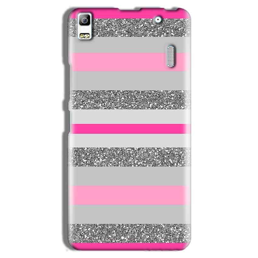 Lenovo K3 Note Mobile Covers Cases Pink colour pattern - Lowest Price - Paybydaddy.com