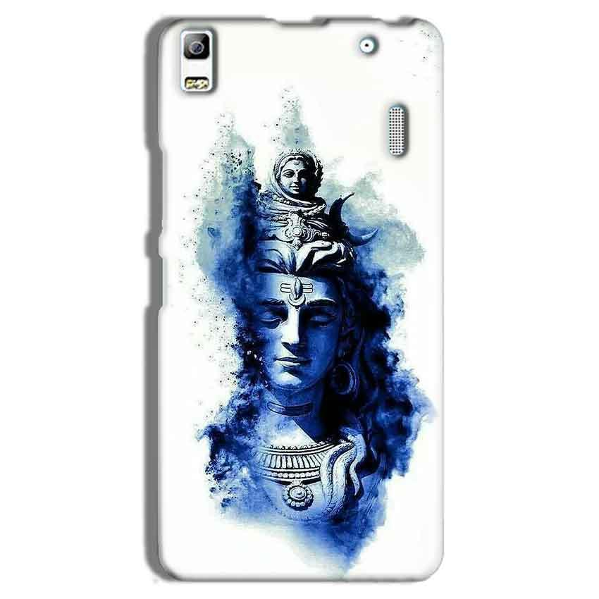 Lenovo K3 Note Mobile Covers Cases Shiva Blue White - Lowest Price - Paybydaddy.com