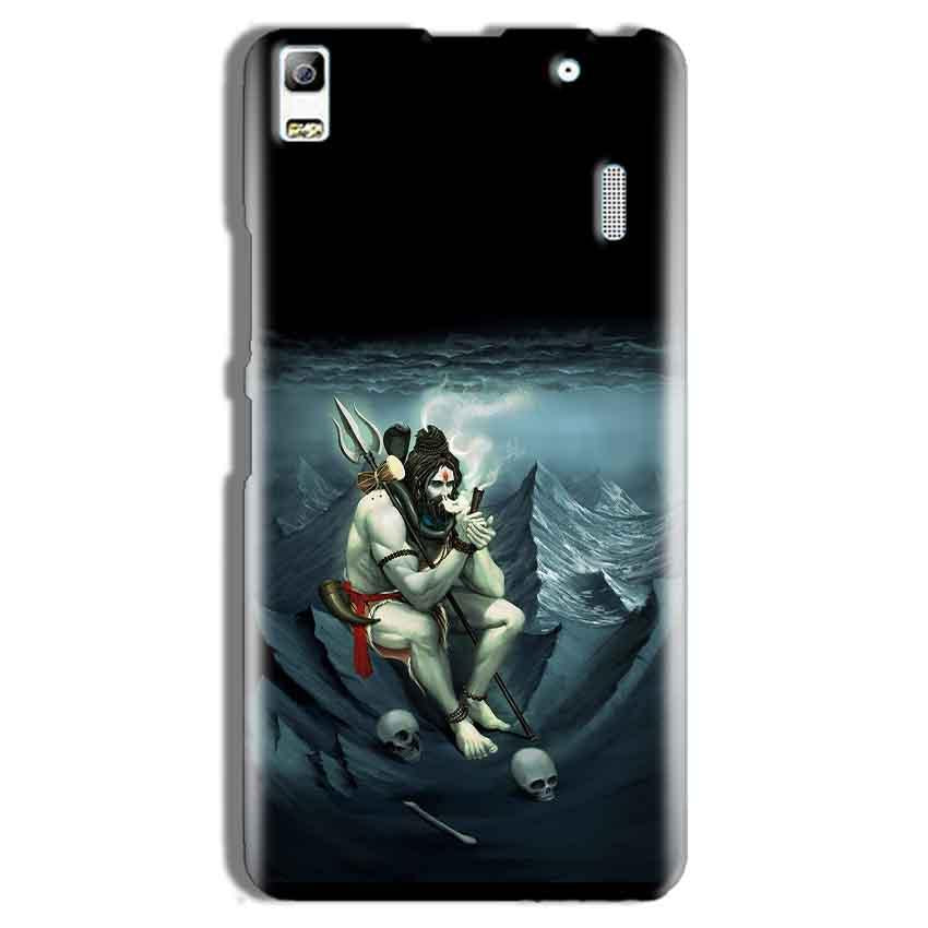 Lenovo K3 Note Mobile Covers Cases Shiva Smoking - Lowest Price - Paybydaddy.com
