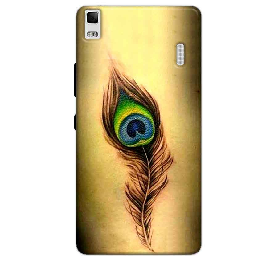 Lenovo K3 Mobile Covers Cases Peacock coloured art - Lowest Price - Paybydaddy.com