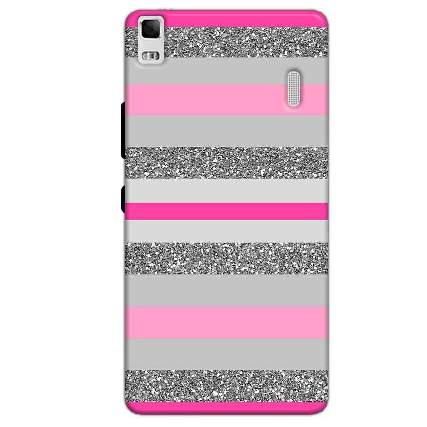 Lenovo K3 Mobile Covers Cases Pink colour pattern - Lowest Price - Paybydaddy.com