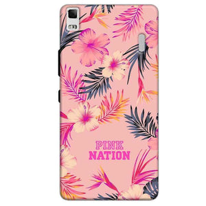 Lenovo K3 Mobile Covers Cases Pink nation - Lowest Price - Paybydaddy.com