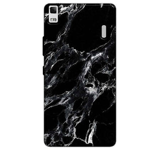 Lenovo K3 Mobile Covers Cases Pure Black Marble Texture - Lowest Price - Paybydaddy.com