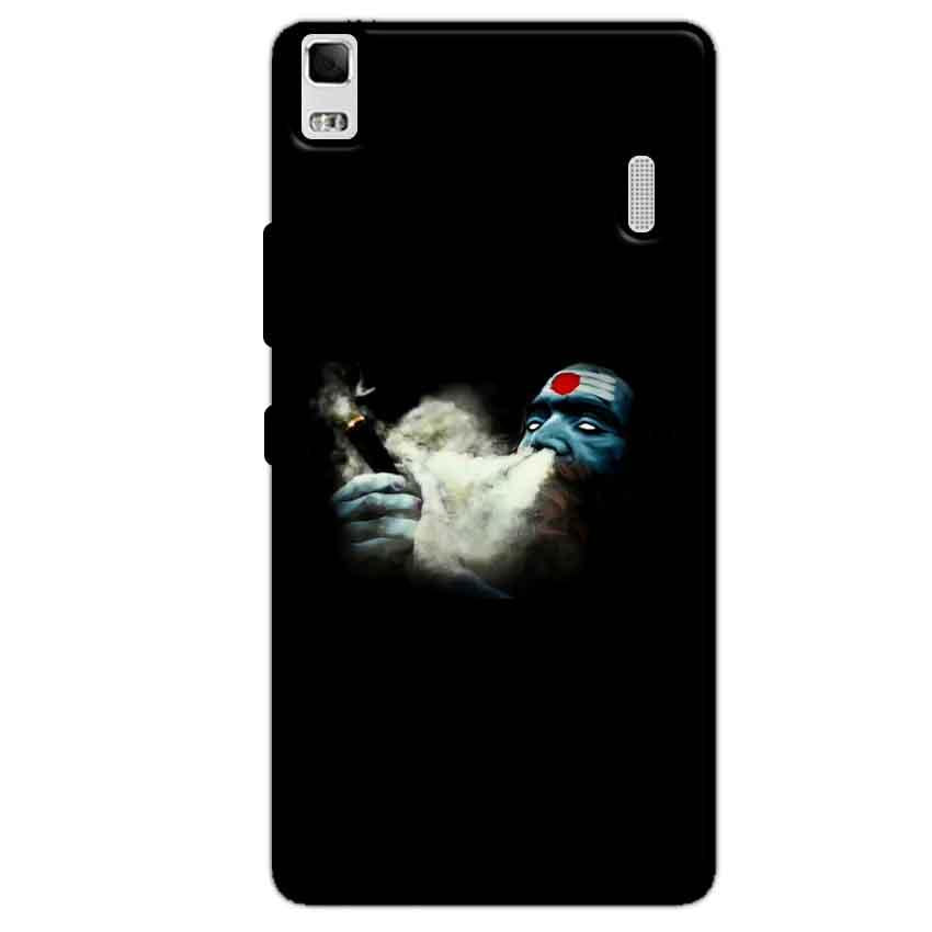 Lenovo K3 Mobile Covers Cases Shiva Aghori Smoking - Lowest Price - Paybydaddy.com