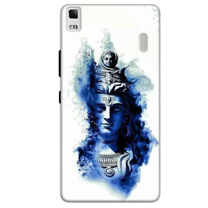 Lenovo K3 Mobile Covers Cases Shiva Blue White - Lowest Price - Paybydaddy.com