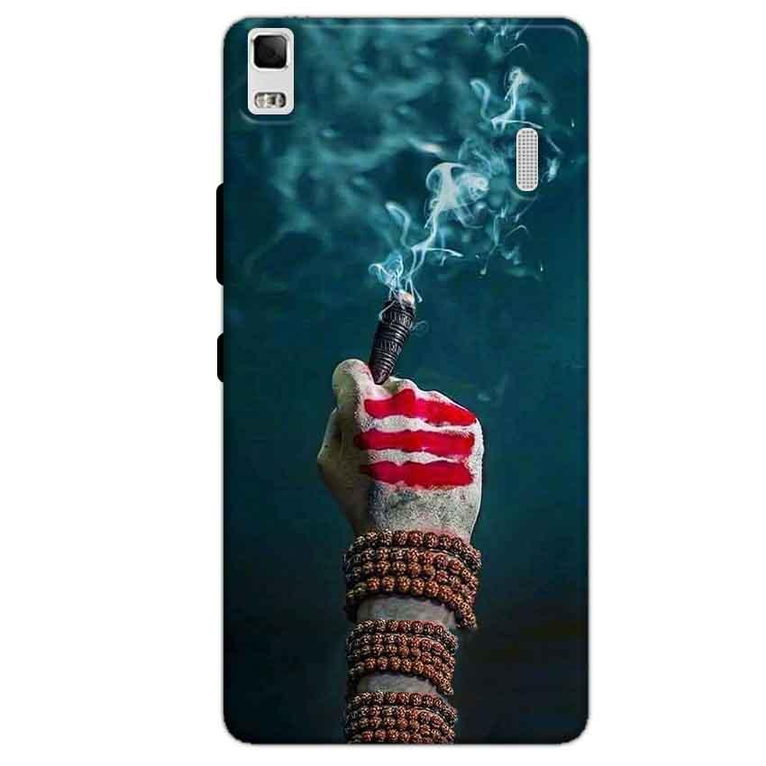 Lenovo K3 Mobile Covers Cases Shiva Hand With Clilam - Lowest Price - Paybydaddy.com