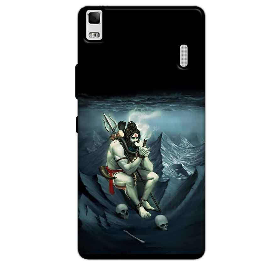 Lenovo K3 Mobile Covers Cases Shiva Smoking - Lowest Price - Paybydaddy.com