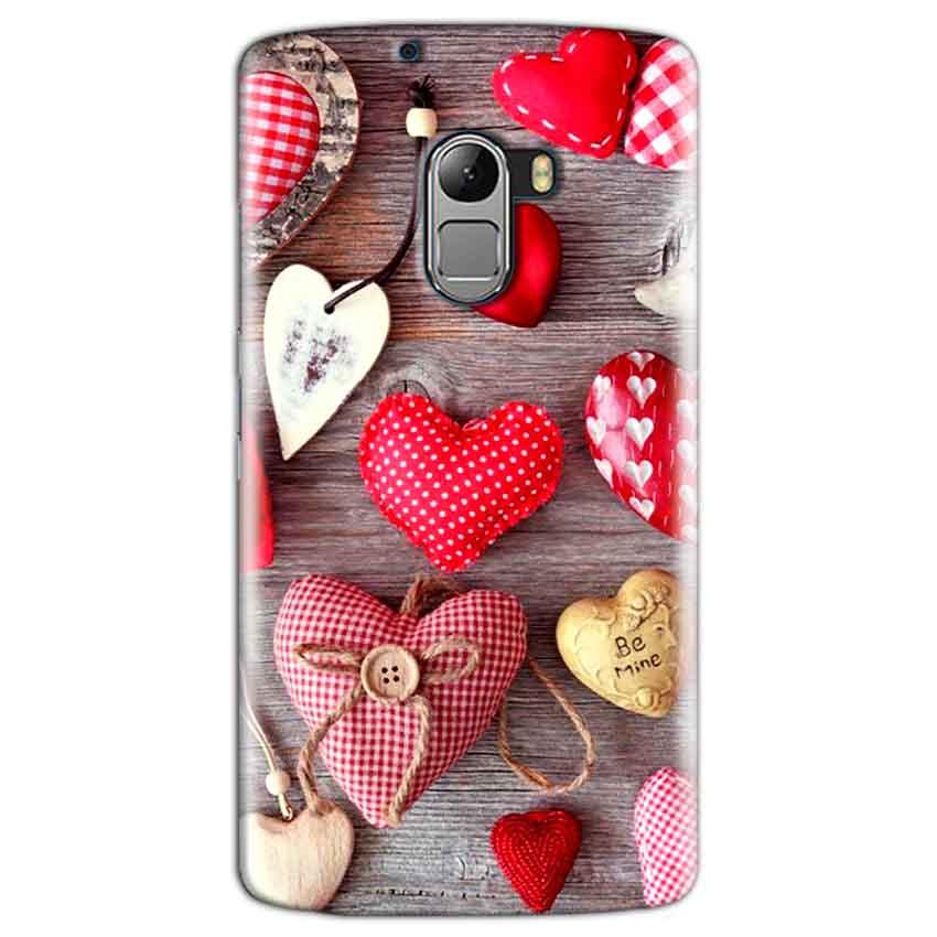 Lenovo K4 Note Mobile Covers Cases Hearts- Lowest Price - Paybydaddy.com
