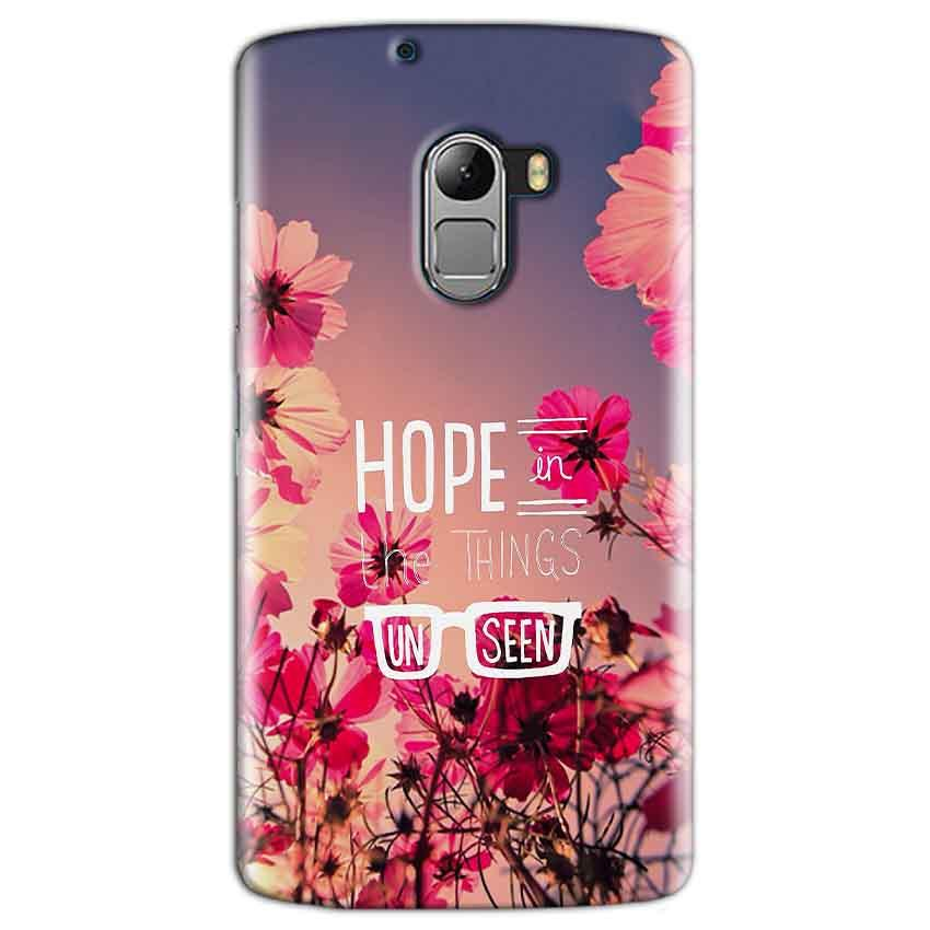 Lenovo K4 Note Mobile Covers Cases Hope in the Things Unseen- Lowest Price - Paybydaddy.com