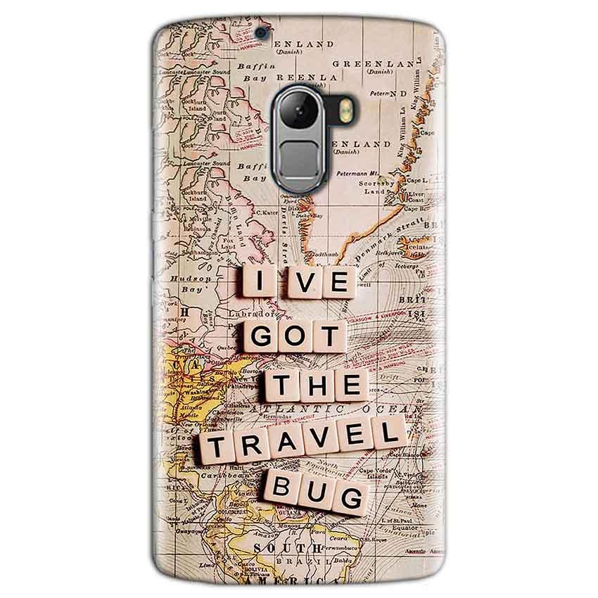 Lenovo K4 Note Mobile Covers Cases Live Travel Bug - Lowest Price - Paybydaddy.com