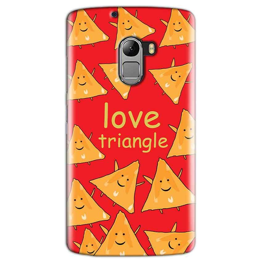 Lenovo K4 Note Mobile Covers Cases Love Triangle - Lowest Price - Paybydaddy.com