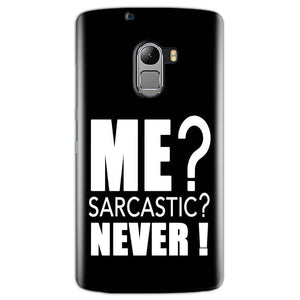 Lenovo K4 Note Mobile Covers Cases Me sarcastic - Lowest Price - Paybydaddy.com