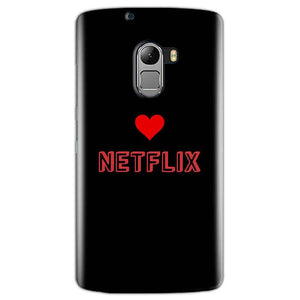 Lenovo K4 Note Mobile Covers Cases NETFLIX WITH HEART - Lowest Price - Paybydaddy.com