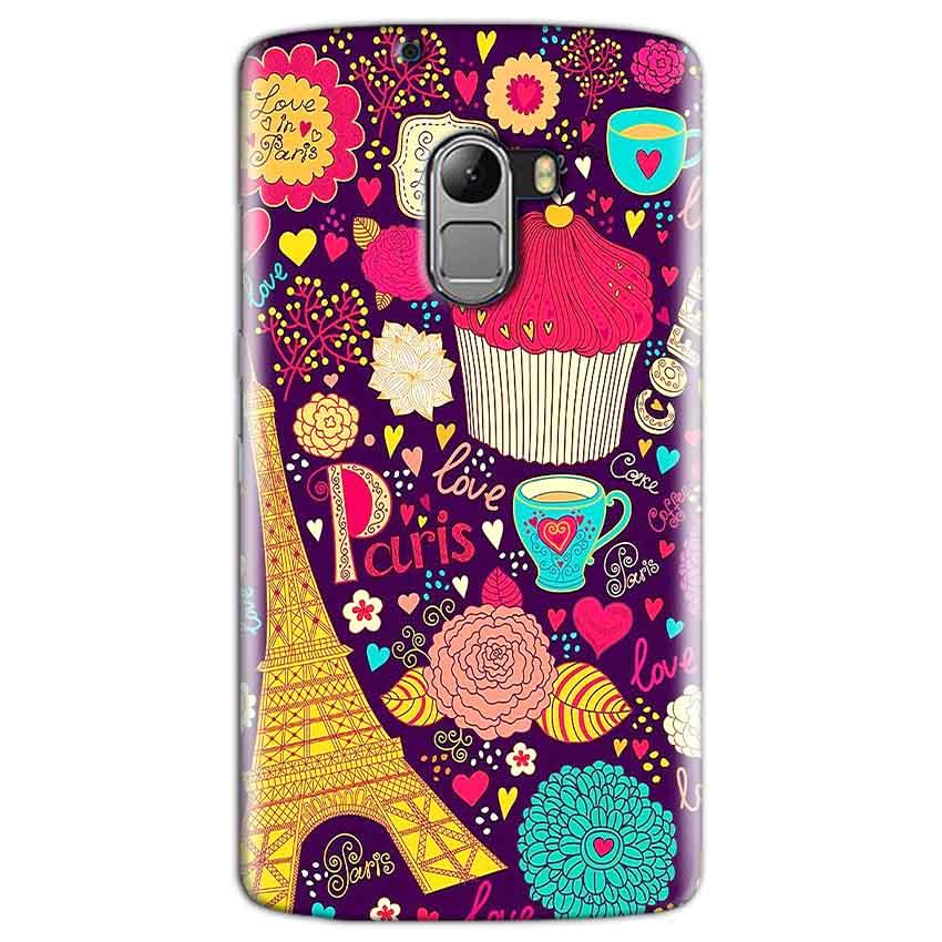 Lenovo K4 Note Mobile Covers Cases Paris Sweet love - Lowest Price - Paybydaddy.com