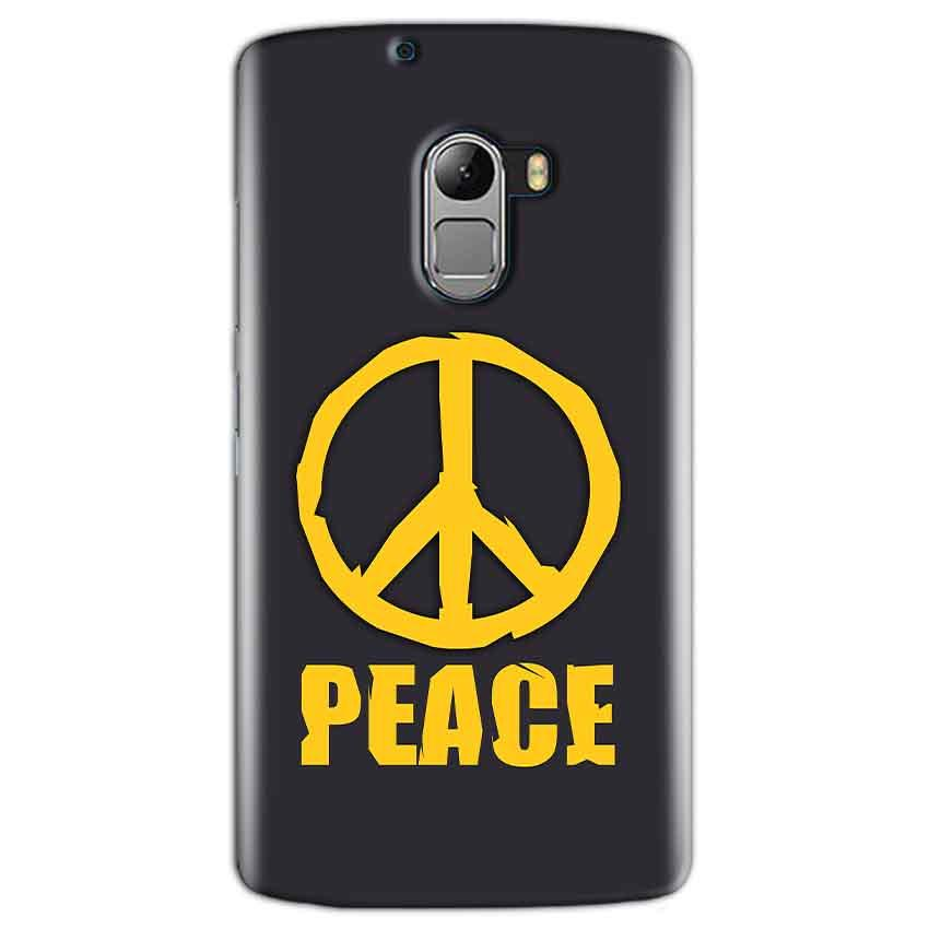 Lenovo K4 Note Mobile Covers Cases Peace Blue Yellow - Lowest Price - Paybydaddy.com