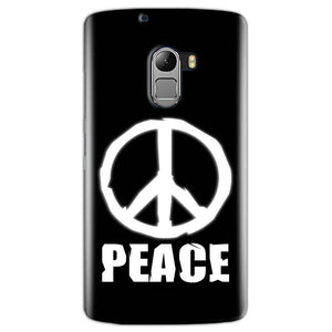 Lenovo K4 Note Mobile Covers Cases Peace Sign In White - Lowest Price - Paybydaddy.com
