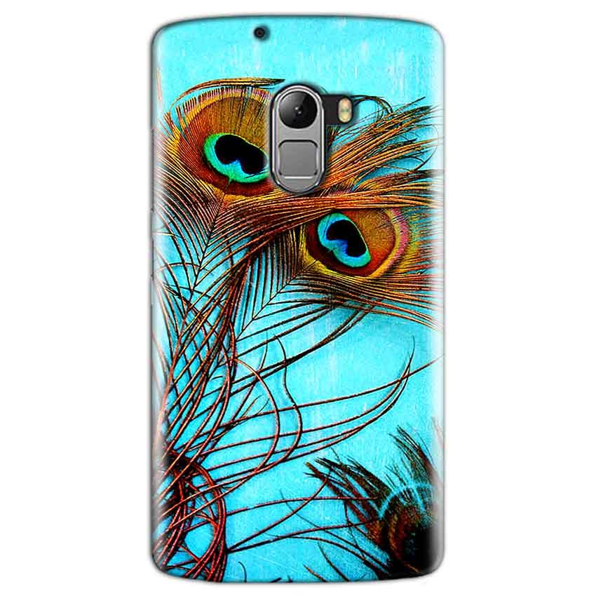 Lenovo K4 Note Mobile Covers Cases Peacock blue wings - Lowest Price - Paybydaddy.com