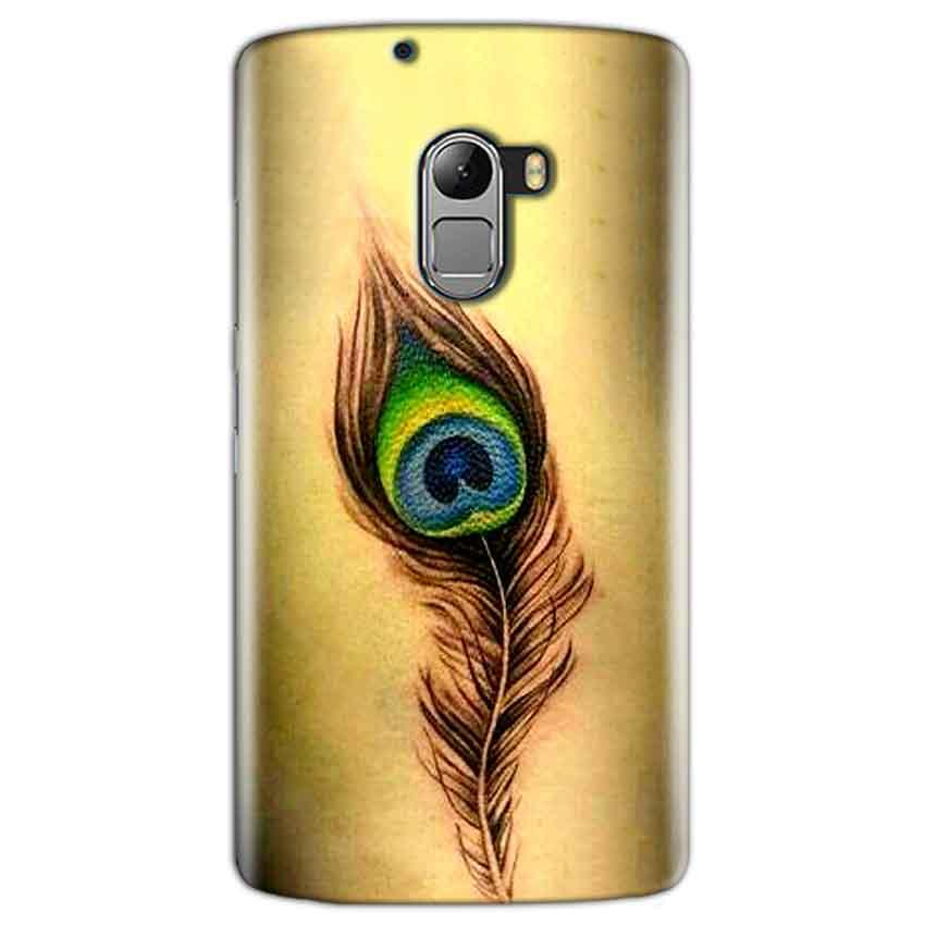 Lenovo K4 Note Mobile Covers Cases Peacock coloured art - Lowest Price - Paybydaddy.com