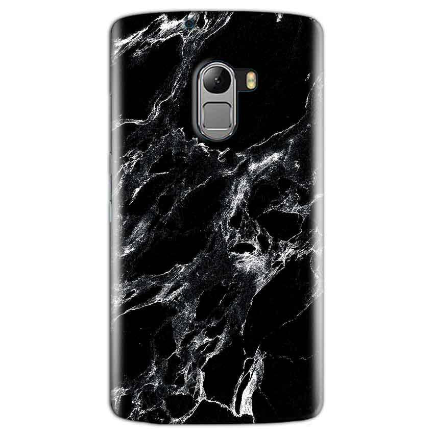 Lenovo K4 Note Mobile Covers Cases Pure Black Marble Texture - Lowest Price - Paybydaddy.com