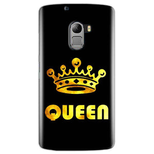 Lenovo K4 Note Mobile Covers Cases Queen With Crown in gold - Lowest Price - Paybydaddy.com