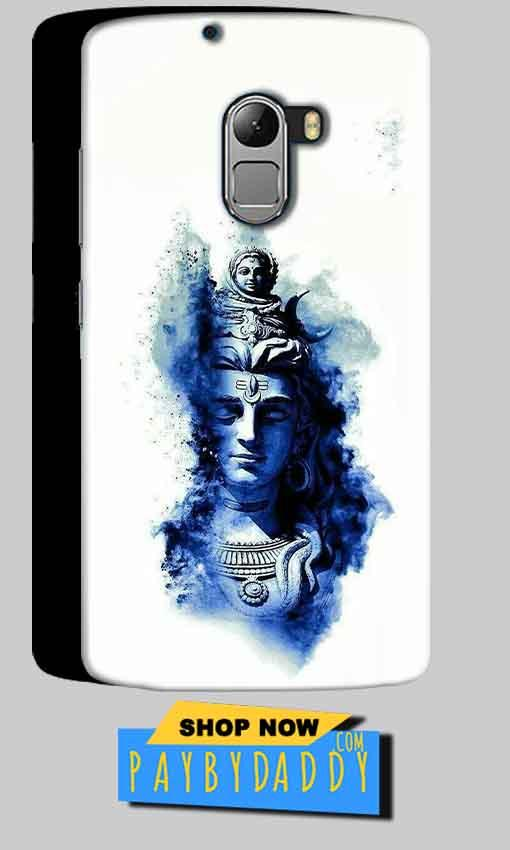 Lenovo K4 Note Mobile Covers Cases Shiva Blue White - Lowest Price - Paybydaddy.com