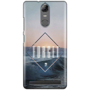 Lenovo K5 Note Mobile Covers Cases Forget Quote Something Different - Lowest Price - Paybydaddy.com