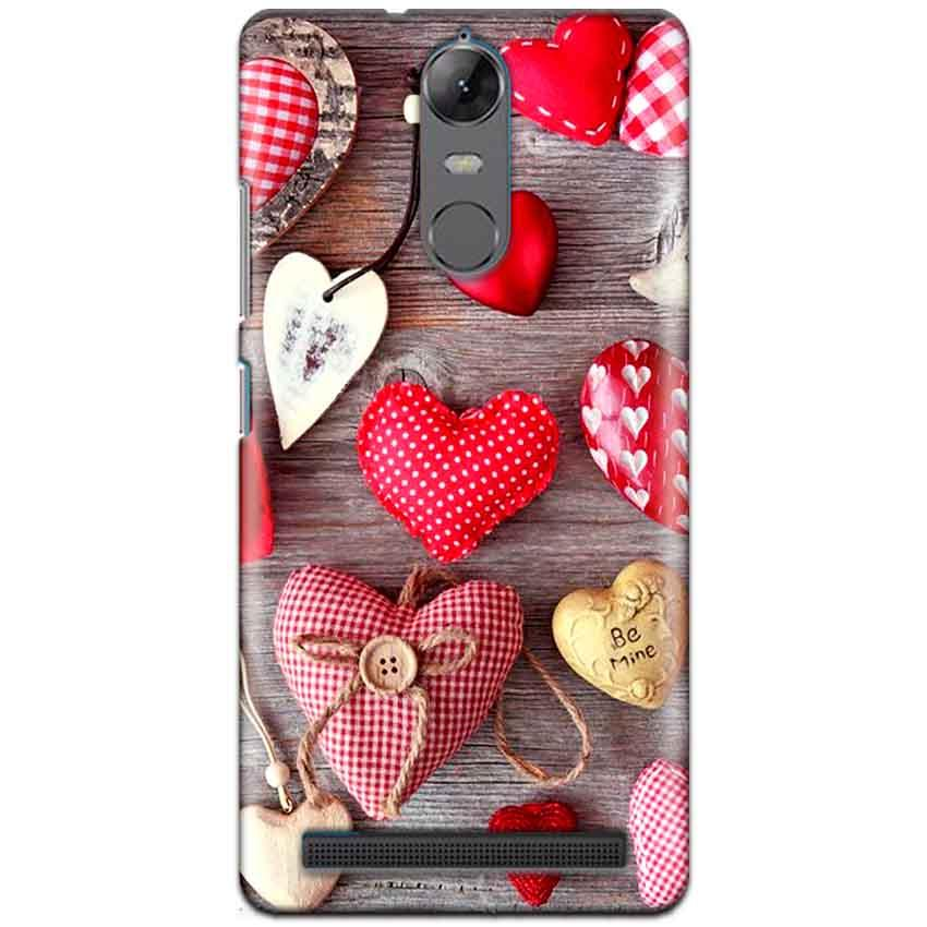 Lenovo K5 Note Mobile Covers Cases Hearts- Lowest Price - Paybydaddy.com