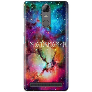 Lenovo K5 Note Mobile Covers Cases I am Dreamer - Lowest Price - Paybydaddy.com