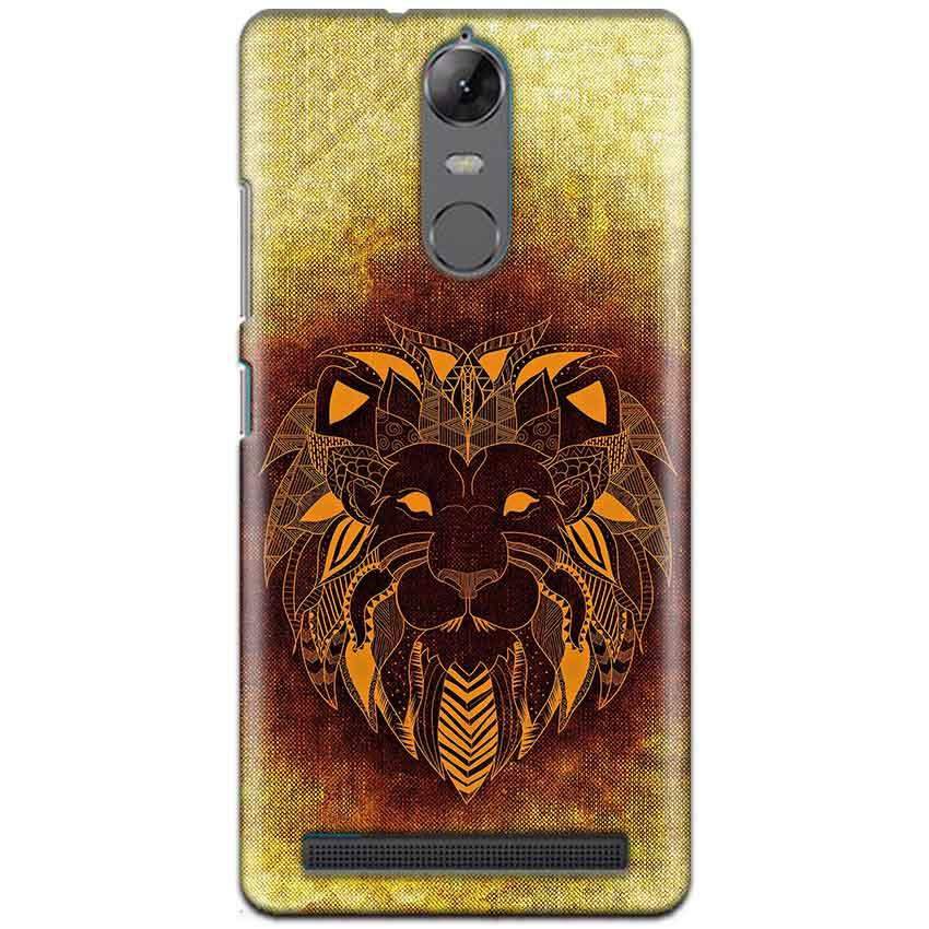 Lenovo K5 Note Mobile Covers Cases Lion face art - Lowest Price - Paybydaddy.com
