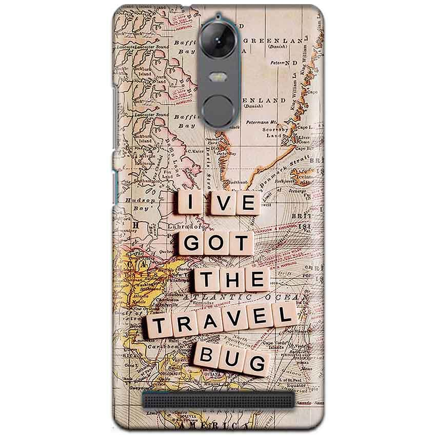 Lenovo K5 Note Mobile Covers Cases Live Travel Bug - Lowest Price - Paybydaddy.com