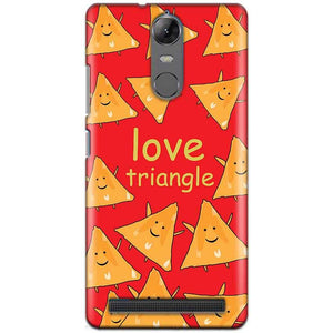 Lenovo K5 Note Mobile Covers Cases Love Triangle - Lowest Price - Paybydaddy.com