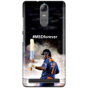 Lenovo K5 Note Mobile Covers Cases MS dhoni Forever - Lowest Price - Paybydaddy.com